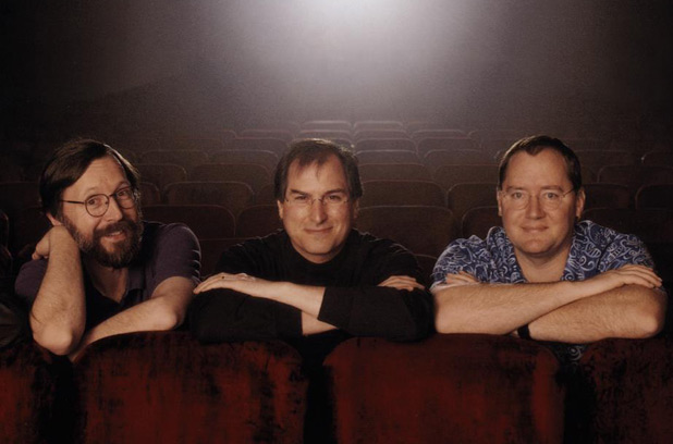 Ed Catmull, Steve Jobs and John Lasseter