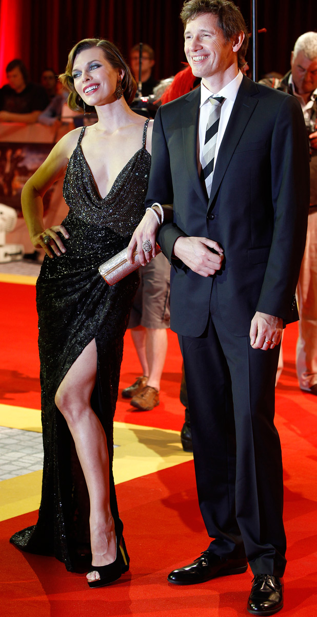Paul WS Anderson and Milla Jovovich