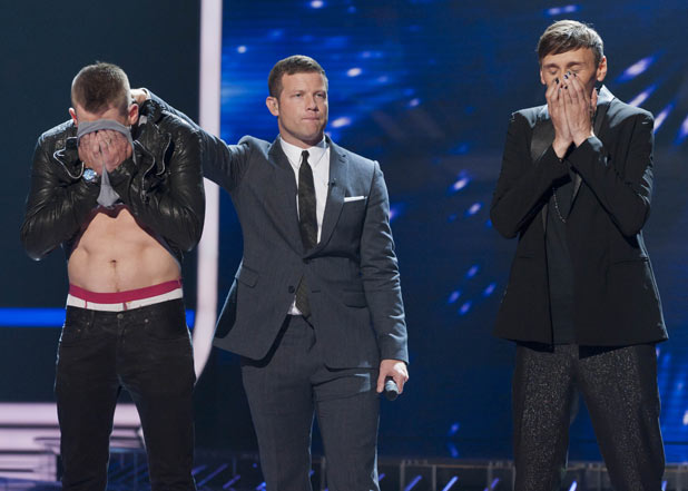 The X Factor 2011 Results Show - Jonjo and Johnny hear their fate