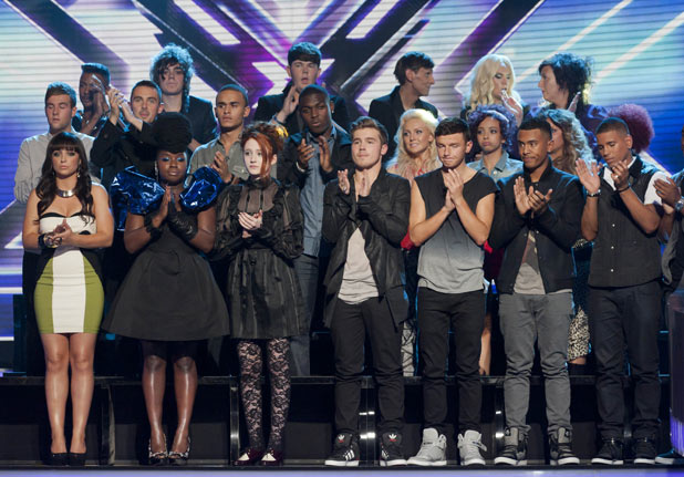 The X Factor 2011 Results Show - The Final 12