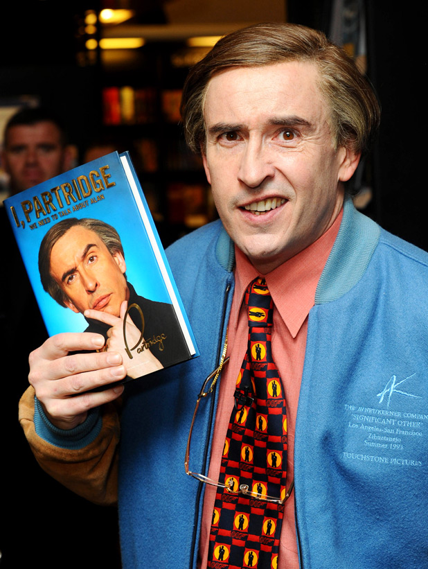 'I Partridge: We Need to Talk About Alan' book signing gallery