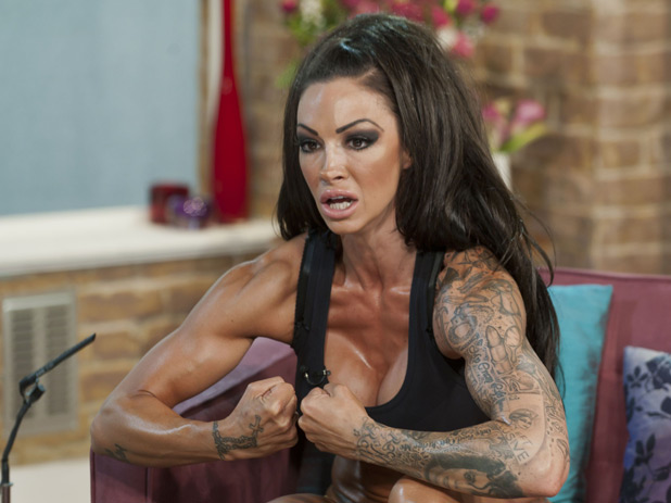 Jodie marsh muscles 