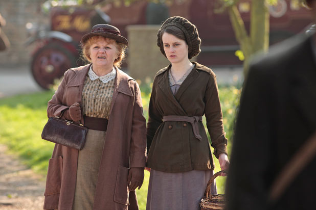 Daisy and Mrs Patmore