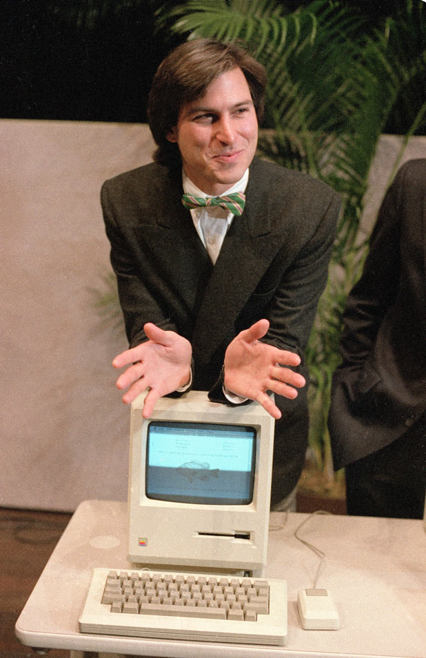 Steve Jobs - Career in pictures