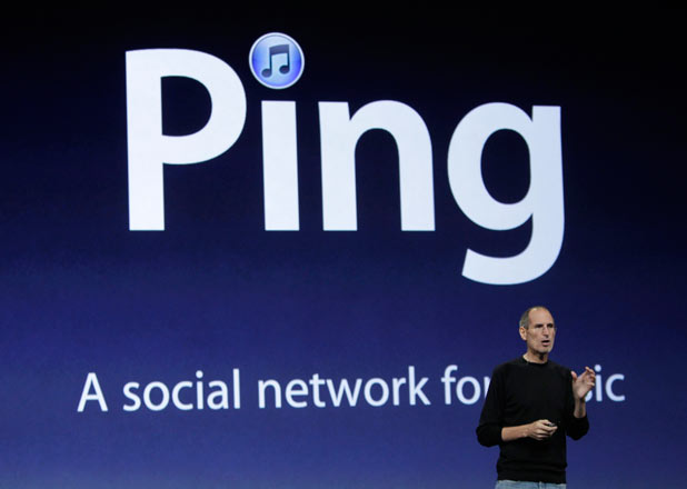 Steve Jobs discusses Ping