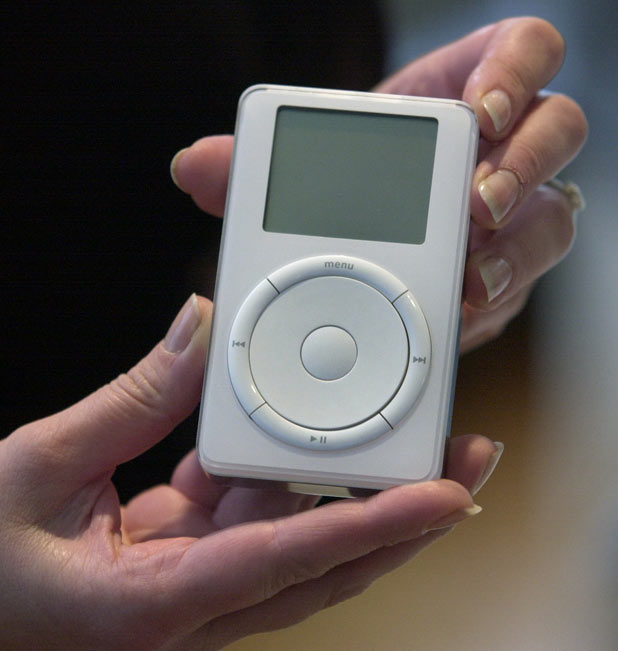 The first ever iPod