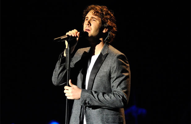 American singer/songwriter Josh Groban performs live at Amsterdam's Heineken Music Hall, Holland