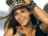 Screenshot from Beyonce's 'Love on Top' video