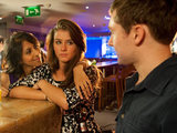 Amber spikes Sophie's drinks and a lad tries to chat her up