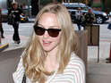 Amanda Seyfried says that she's practicing for motherhood with her dog.