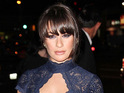 "Lea Michele says that shooting a sex scene for Glee was ""awkward""."