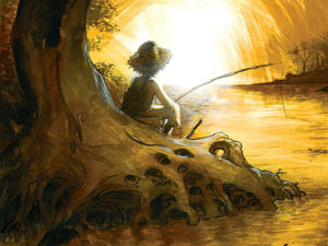 'Huckleberry Finn' illustrated by Eric Powell