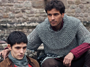 Merlin and Lancelot
