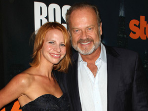 Kayte and Kelsey Grammer