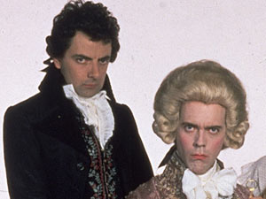 Blackadder and the Prince in Blackadder the Third