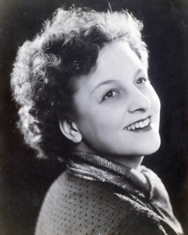 An early headshot of Betty