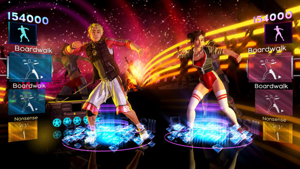Screenshot from Dance Central 2
