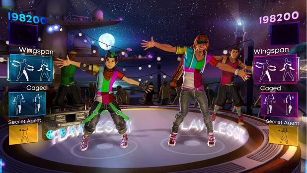 Screenshot from Dance Central 2