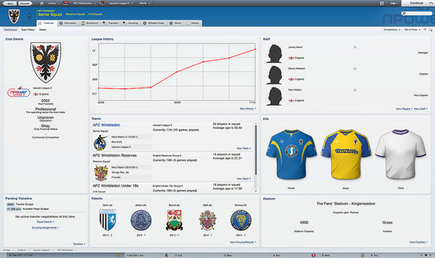 Review: Football Manager 2012