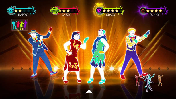 Just Dance 3  - Group Dance