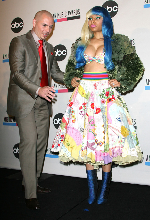 Pitbull and Nicki Minaj