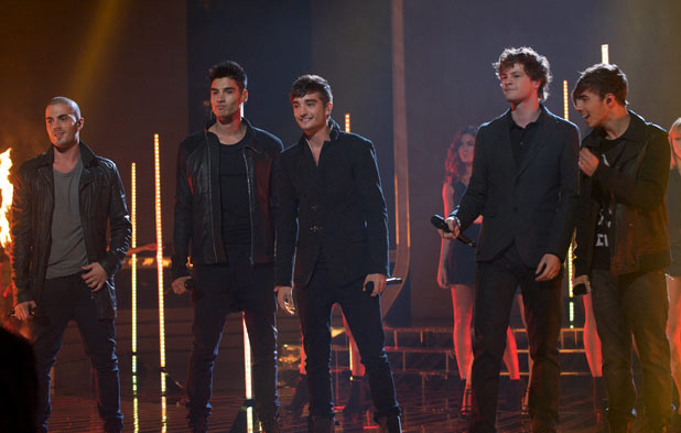 The X Factor 2011 Results Show: The Wanted perform