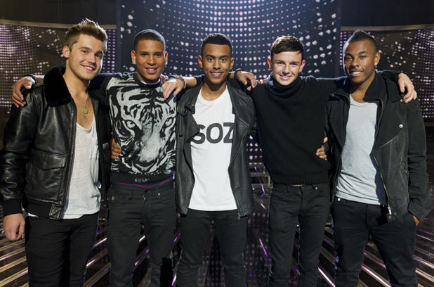 The X Factor 2011 Results Show: Nu Vibe before the axe fell