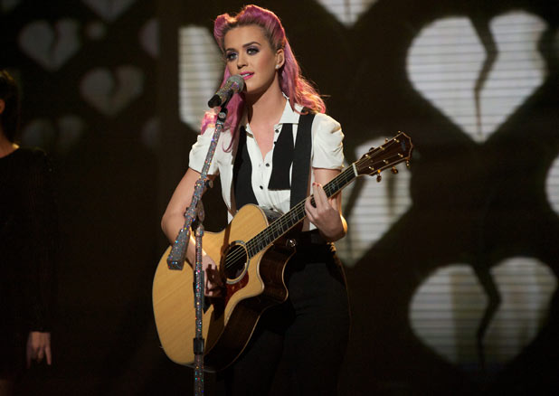 The X Factor 2011 Results Show: Katy Perry performs