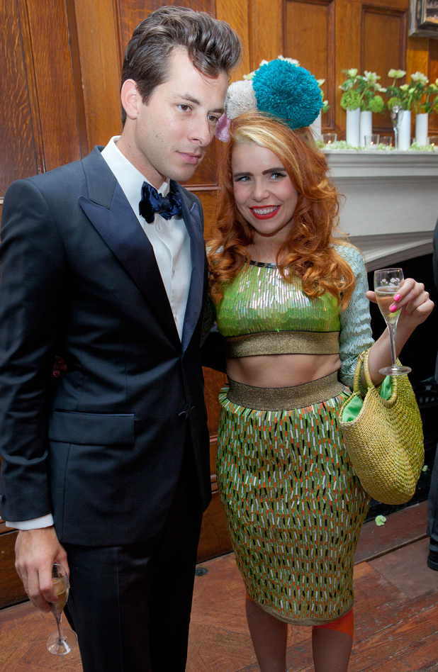 Mark Ronson and Paloma Faith