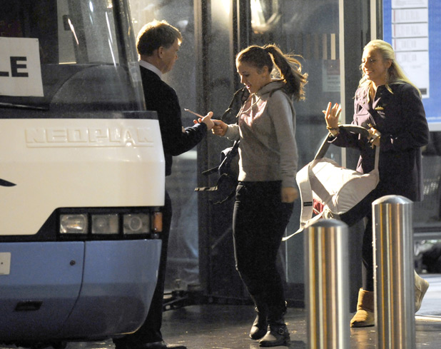Coronation Street filming pictures
