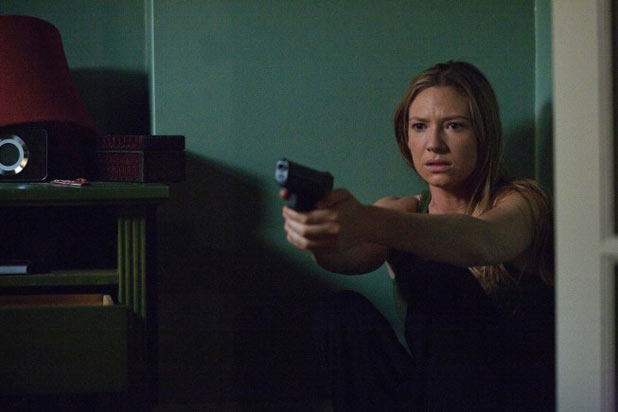 Olivia (Anna Torv) is awakened