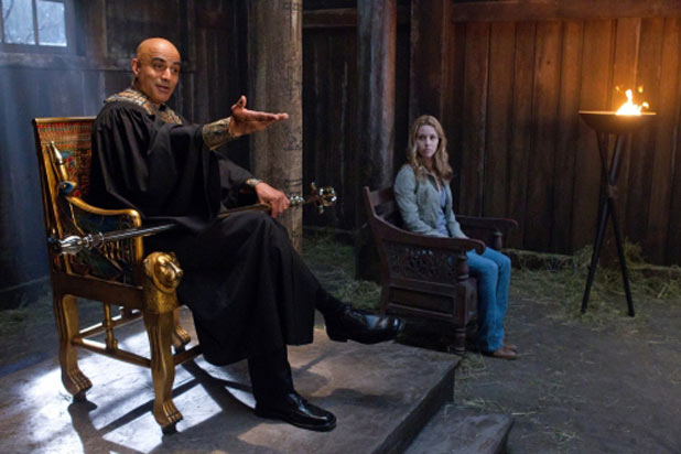 Faran Tahir as Osiris and Alona Tal as Jo Harvelle