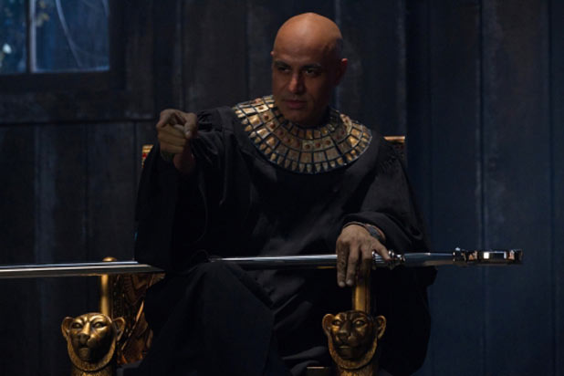 Faran Tahir as Osiris