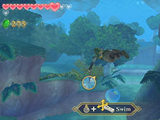 The Legend of Zelda - Skyward Sword Lake Floria area