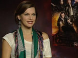 Milla Jovovich &#39;Three Musketeers&#39; DS interview