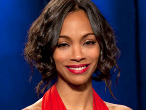 Project Runway S09E12 - guest judge Zoe Saldana