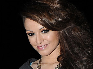 Cher Lloyd leaves the BBC Radio 1 studios in London after attending the station's Teen Awards held in Wembley