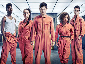 The cast of Misfits season 3