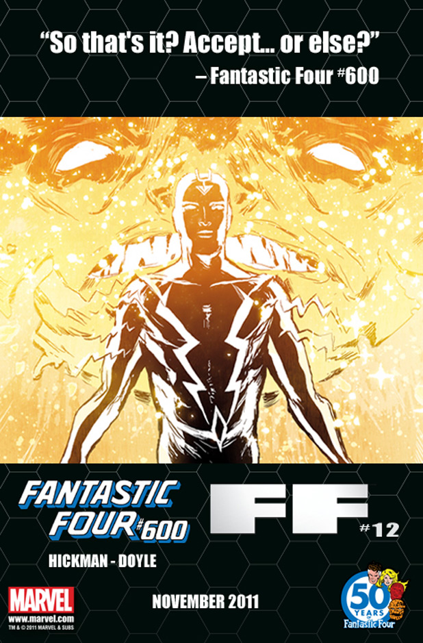Fantastic Four and FF teaser Black Bolt