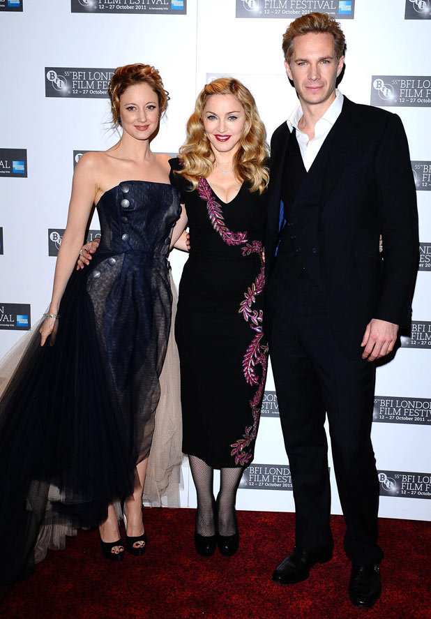 W.E. London Premiere - Andrea Riseborough, Madonna and James D'Arcy