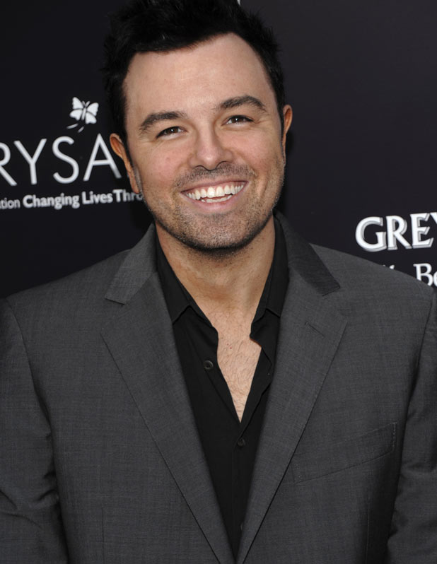 Seth MacFarlane - The American animator and Family Guy creator is 38 on Wednesday.