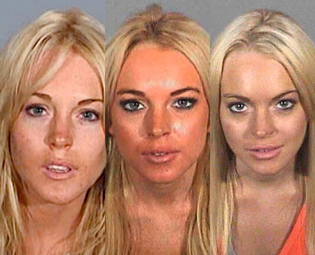Celebrity mugshots in pictures