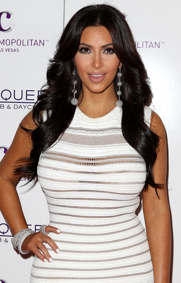 Kim Kardashian celebrates her birthday at Marquee Nightclub, Las Vegas