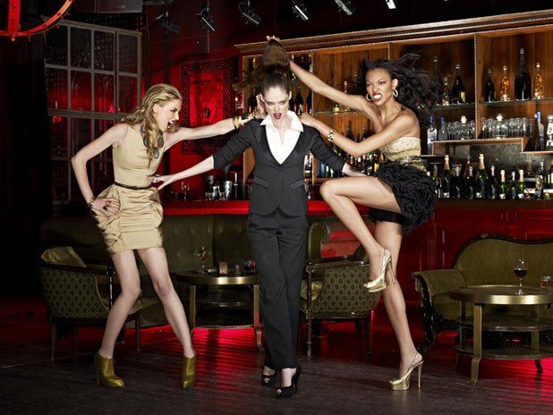 Shannon, Coco Rocha and Bianca