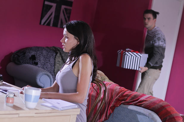 Lynsey Nolan (Karen Hassan) and Doug Carter (PJ Brennan)