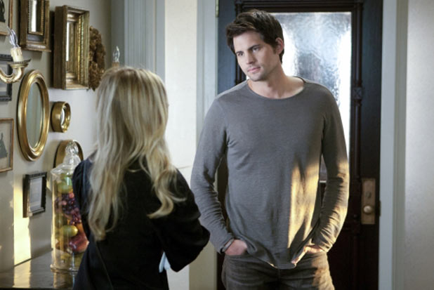 Sarah Michelle Gellar as Siobhan Martin/Bridget and Kris Polaha as Henry