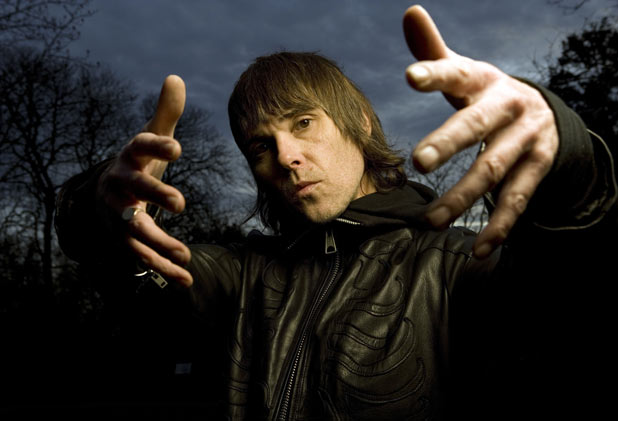 Ian Brown in Holland Par