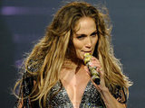 Jennifer Lopez performs at Mohegan Sun during its 15th anniversary celebration in Uncasville.