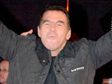 Paddy Doherty attends the Paranormal Activity 3 Premiere at the Big Brother House