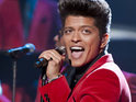 Bruno Mars is still working on his video for 'It Will Rain'.